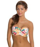 Body Glove Sanctuary Glow Underwire Push Up Bandeau Bikini Top