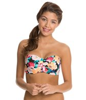 Body Glove Sanctuary Glow Underwire Push Up Bandeau Bikini Top