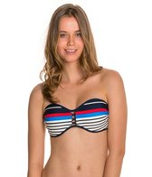 Body Glove Swimwear Summertime Molded Cup Bandeau Bikini Top