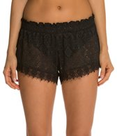 Jessica Simpson Desert Fringe Crochet Short
