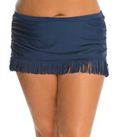 Jessica Simpson Plus Size Desert Fringe Skirted Bottom