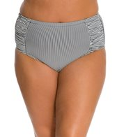 Jessica Simpson Plus Size Boardwalk High Waisted Bottom