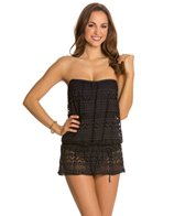 Jones New York Neo Crochet Blouson Swim Dress