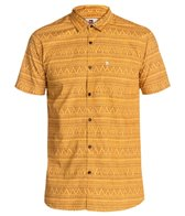 Quiksilver Men's Med Triangles Short Sleeve Shirt