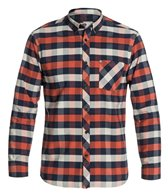Quiksilver Men's Lotted Long Sleeve Shirt