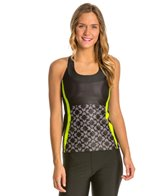 Moxie Cycling Women's High Vis Lumenex T-Back Tank