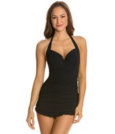 Profile by Gottex Solid Underwire D-Cup One Piece Swimsuit