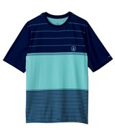 Volcom Men's Sub Stripe Short Sleeve Rashguard