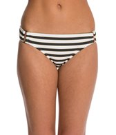 Red Carter Tropical Ladder Square Hardware Hipster Bikini Bottom