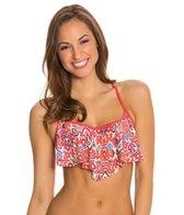 Profile Blush Siam Underwire Flutter Bikini Top (D/E/F Cup)