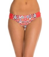 Profile Blush Siam Shirred Side Bikini Bottom