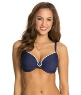 BLEU Rod Beattie Hey Sailor Underwire D-Cup Bikini Top