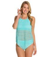 BLEU Rod Beattie Sneak Peak Fly Away Halter Bikini Top