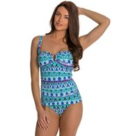 BLEU Rod Beattie Major Scale V-Wire One Piece Swimsuit