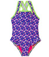 Hula Star Strawberry Fields One Piece (2T-6X)