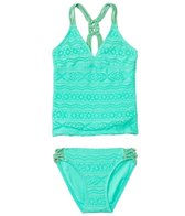 Gossip Girl Girls' Little Wild One Tankini Set (7-16)