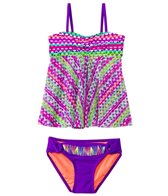 Gossip Girl Girls' Flying V Tankini Set (7-16)
