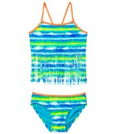 Gossip Girl Girls' Sunkissed Fringe Tankini Set (7-16)