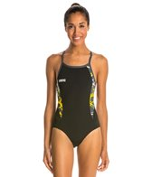 Arena Carbonite Light Drop Back One Piece Swimsuit