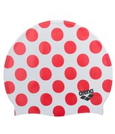 Arena Poolish Polka Dot Silicone Swim Cap