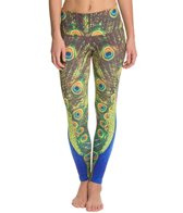 Om Shanti Clothing Peacock Twins Printed Performance Legging