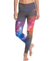 Om Shanti Clothing Carina Space Galaxy Printed Performance Legging
