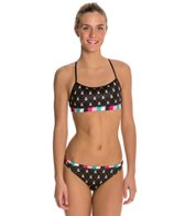 Betty Designs Jacquard Racerback Training Bikini