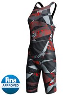 TYR Avictor Prelude Female Closed Back Kneeskin Tech Suit Swimsuit