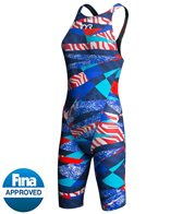 TYR Avictor Prelude Female Open Back Kneeskin Tech Suit Swimsuit