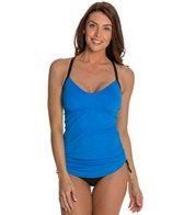 Beach House Solid Maya Tankini Top