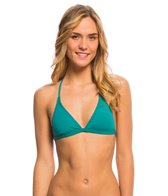 O'Neill Swimwear Salt Water Solids Peace Back Bikini Top