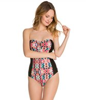 Ella Moss Marrakech Cut Out Back One Piece Swimsuit