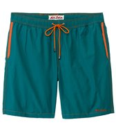 Mr.Swim Men's Dale Solid Elastic Swim Trunk