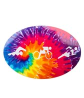 Bay Six Tri Figures Oval Decal
