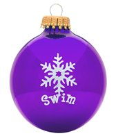 Bay Six Swim Snowflake Ornament