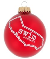 Bay Six California State Swim Ornament