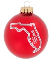Bay Six Florida State Swim Ornament