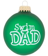 Bay Six Swim Dad Ornament