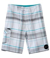 O'Neill Boys' Santa Cruz Plaid Boardshort (8yrs-14+yrs)