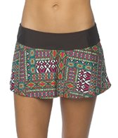 Prana Printed Sakti  Swim Skirt