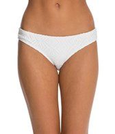 Roxy Swimwear Sand Dollar Cheeky Scooter Bikini Bottom