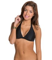 Roxy Swimwear Essentials 70s Halter Bikini Top