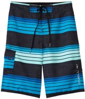 O'Neill Boys' Santa Cruz Stripe Boardshorts (8yrs-14+yrs)