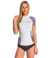 Hurley One & Only Colorblock S/S Rashguard