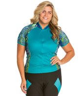 Shebeest Women's Bellissima Python Plus Size Jersey