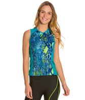 Shebeest Women's Bellissima Python Sleeveless Cycling Jersey