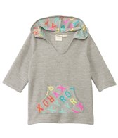 Roxy Kids Girls' Terry Cloth Logo Cover-Up Poncho (2yrs-7yrs)