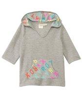 Roxy Kids Girls' Terry Cloth Logo Cover-Up Poncho (2yrs-7yrs)