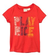 Roxy Kids Girls' Play Nice Crew NeckTee (2yrs-7yrs)