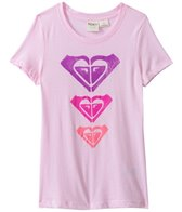 Roxy Kids Girls' Logo Trio Crew Neck Tee (8yrs-16yrs)